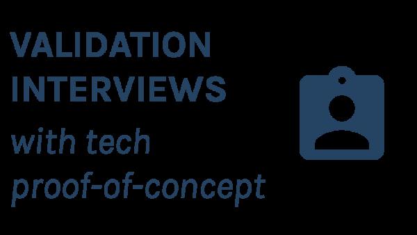 validation interviews