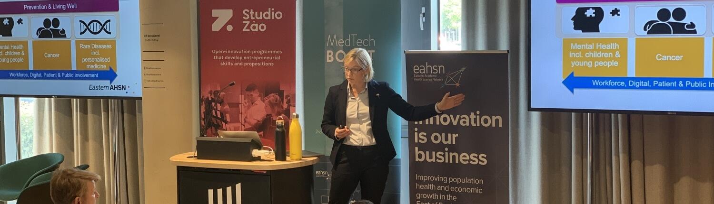 Medtech Louise Jopling EAHSN Opening presentation
