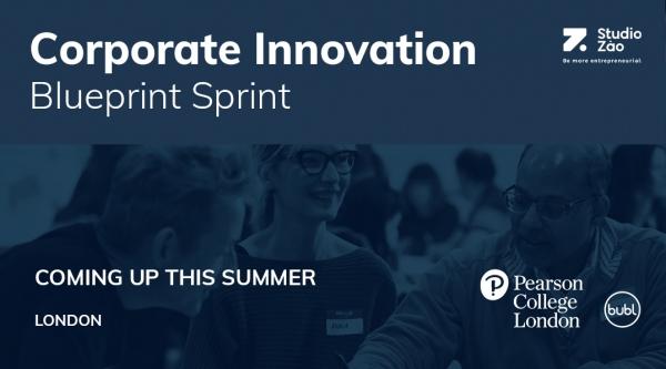 Corporate innovation Blue Sprint Studio Zao