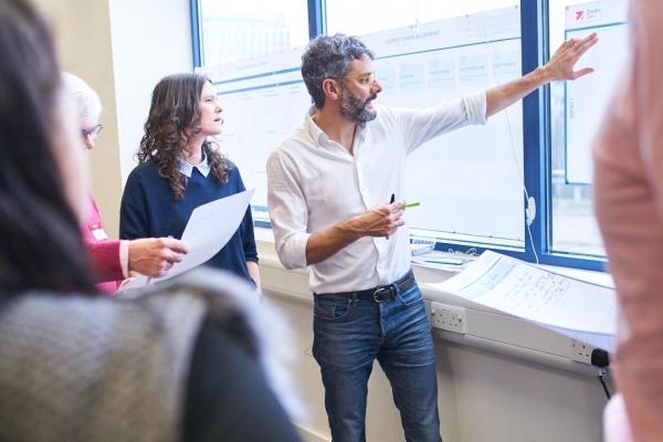 Davide Turi Explaining Business Transformation