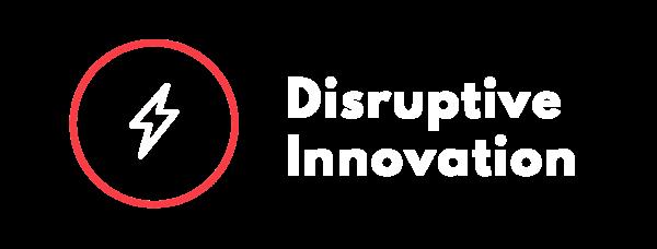 Disruptive Innovation Graphic Logo
