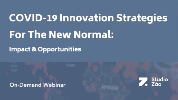 COVID-19 Innovation Strategies Banner